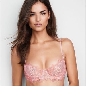 Victoria's Secret Wicked Unlined Uplift Bra Lace